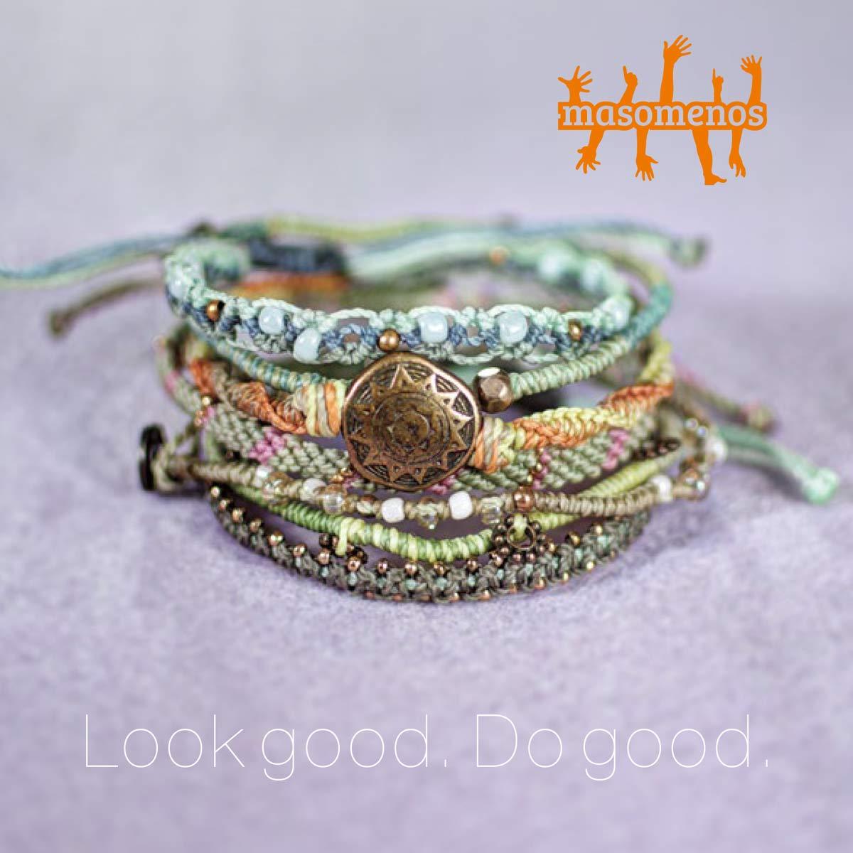 Masomenos AB - Look good. Do good. Smycken som inspirerar dig, och som förändrar livet för dem som gör dem.