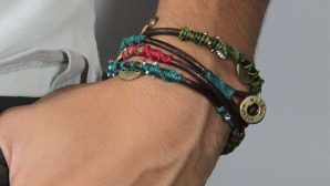 Wakami Dream Bracelet - läderarmband, unisex, fairtrade