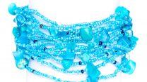 Guate!Guate ljusblått 12 armband MoM795 LB
