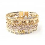 All One, armband, Fair Trade, Guatemala, guld, hantverk, manchette, Wakami