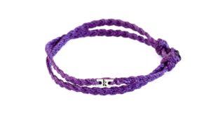 Wakami Urban Tribe lila armband