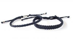 armband, blå, Fair Trade, handtillverkat, mörkblå, paket, Street, unisex, Wakami