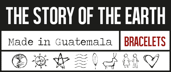 The Story of the Earth - armband made in Guatemala