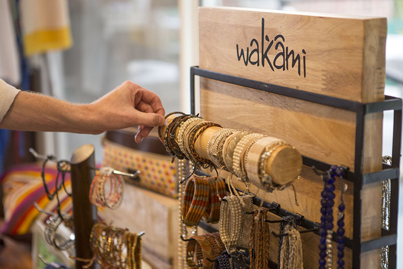 Wakami butiksdisplay 2016