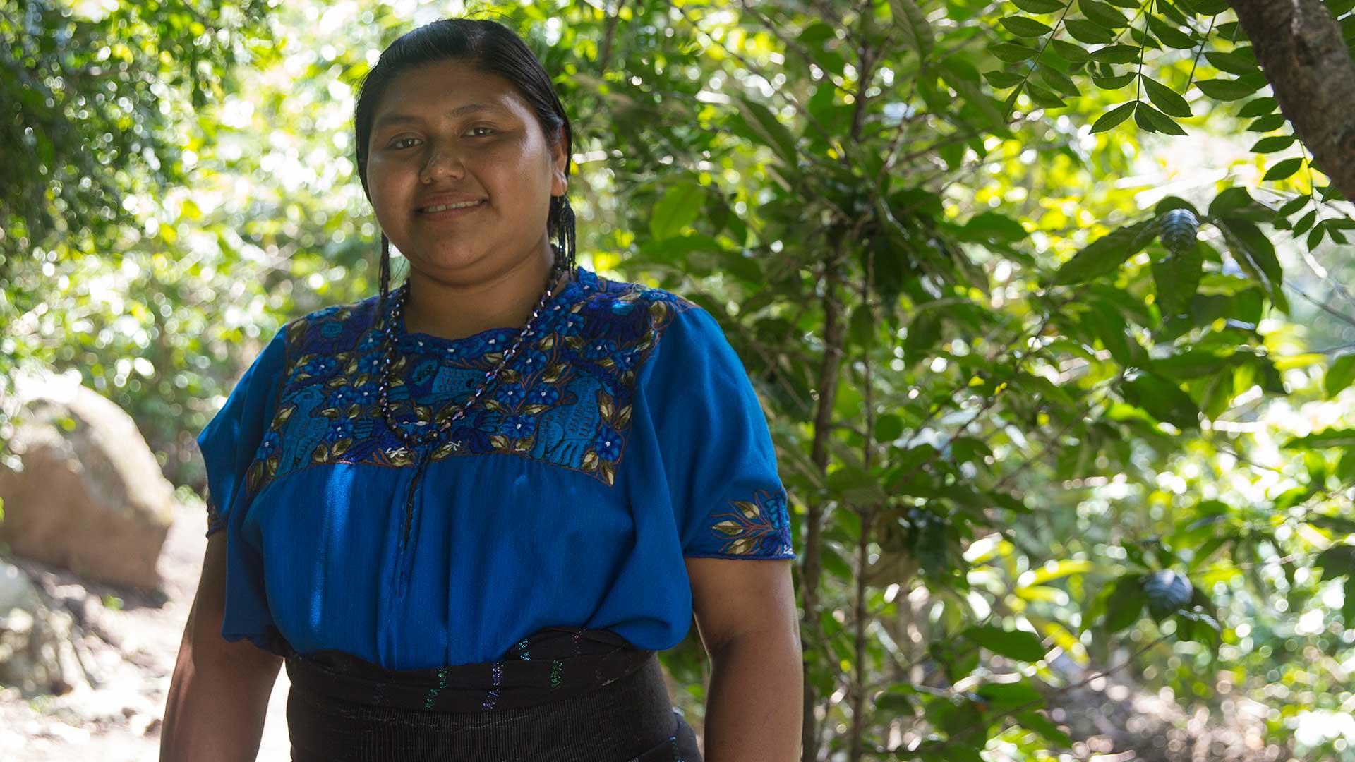 Santos, ledare för Producciones Tzununa i Guatemala