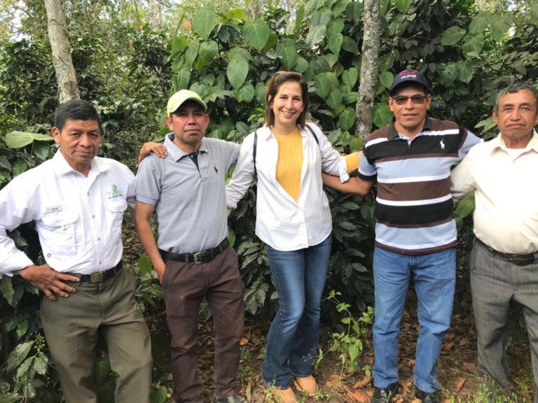 María Pacheco i grundarna av hållbart skogsbruk i Guatemala